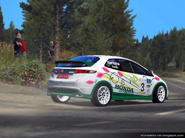 Skin_RBR_ Honda_Civic_R3_Rally_Telde