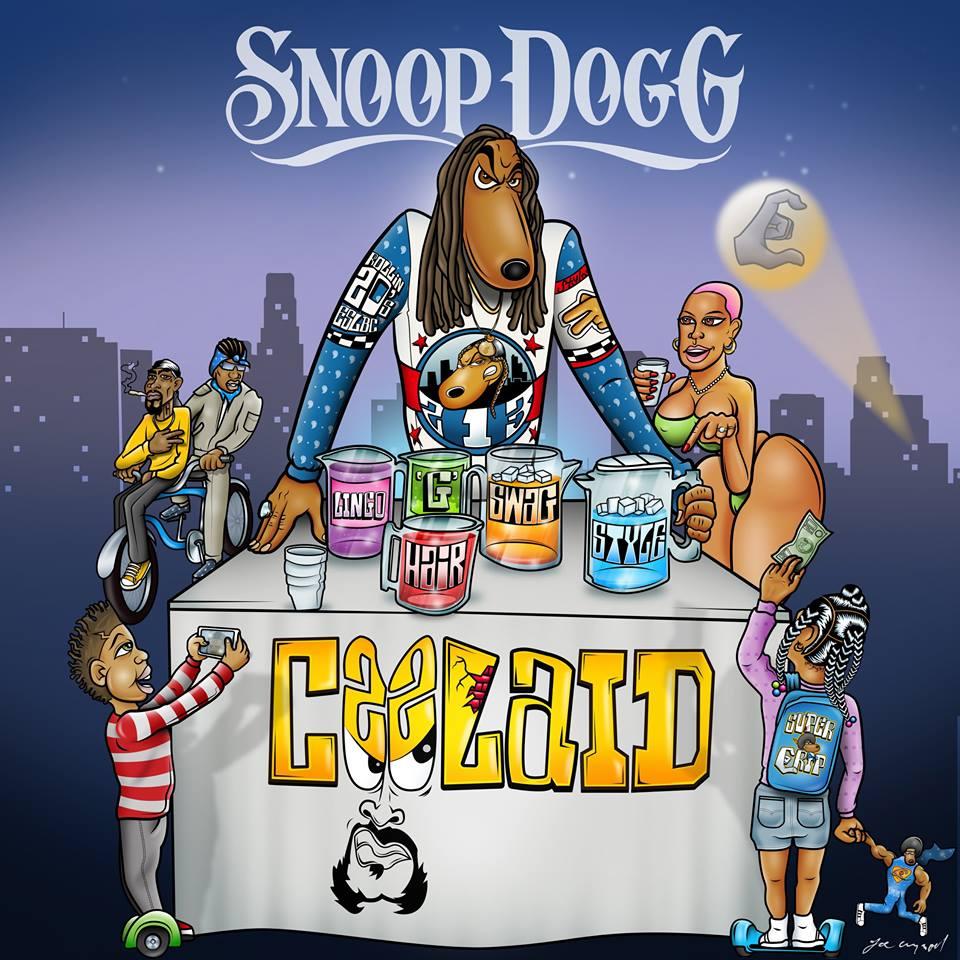 """""""Gangsta Rap is back"""", verkündete Snoop Dogg erst kürzlich in der Tonight Show von Jimmy Kimmel und ließ Fans damit aufhorchen. Coolaid"""