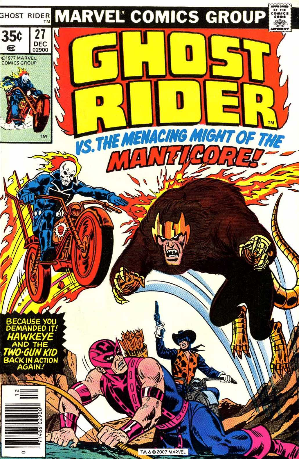 Ghost Rider (1973) issue 27 - Page 1