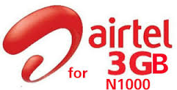Use Airtel BB10 Plan of 3GB for #1000 on Android and PC price in nigeria