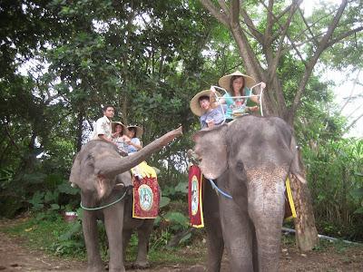 Elefantes Isla de bali, indonesia,  Al Este por el Oeste, vuelta al mundo, round the world, La vuelta al mundo de Asun y Ricardo, mundoporlibre.com