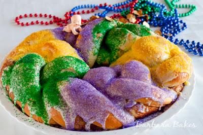 http://www.barbarabakes.com/mardi-gras-king-cake/