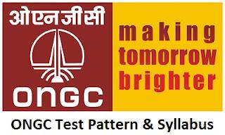ONGC Test Pattern