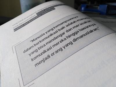 Salah satu quote dalam buku ini