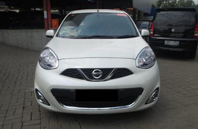 Eksterior Depan Nissan March Facelift