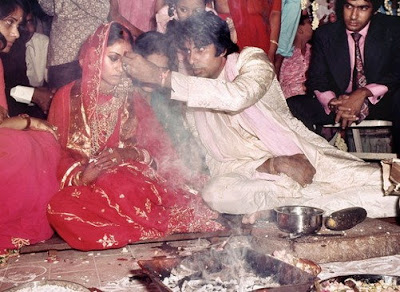 Amitabh Bachchan and Jaya wedding