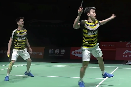 Duel Panas Kevin/Marcus Semi final Malaysia Maters 2019