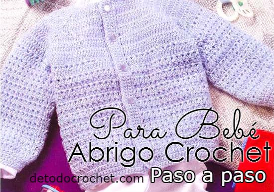 como-tejer-saco-bebe-a-crochet