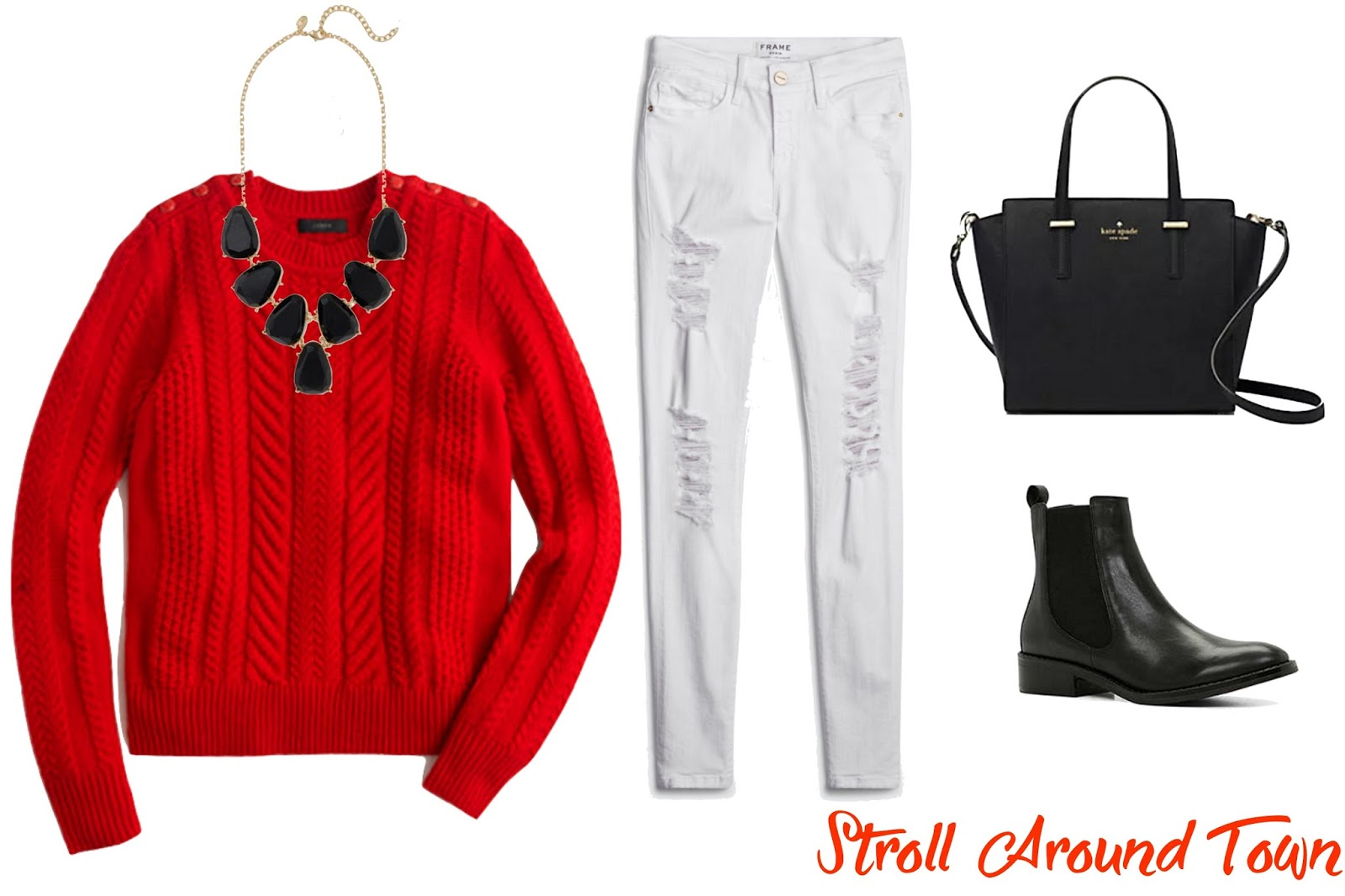 Valentine's Day Stroll Around Town Outfit - Le Northern Belle