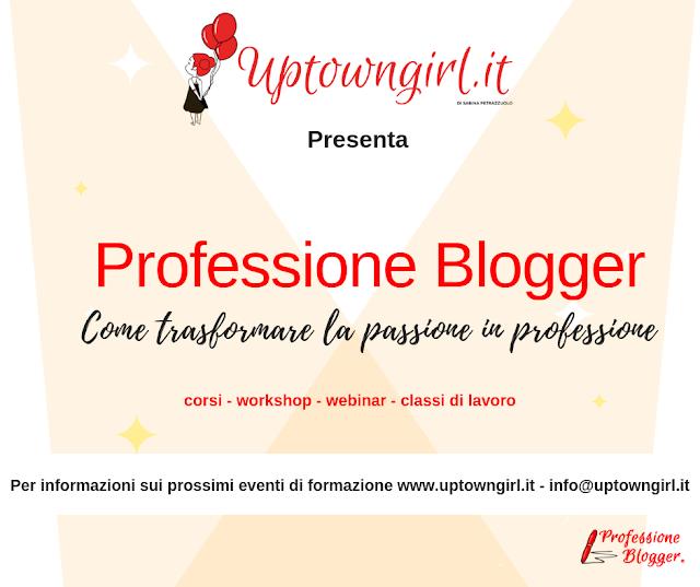 professione blogger - tutti i corsi