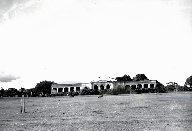 The Information and Education Golden Gate College, at Base R. Batangas, Batangas, Luzon, P.I. Taken 20 June 1945.