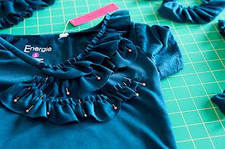 Fırfırlı  Bluz Süsleme