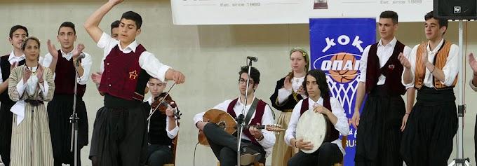 Εντυπωσιακή τελετή έναρξης στο Πανελλήνιο Λυκείων της Κύπρου