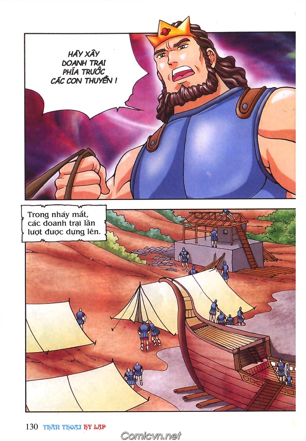 Thần Thoại Hy Lạp Màu - Chapter 55: Trận chiến đầu tiên - Pic 34