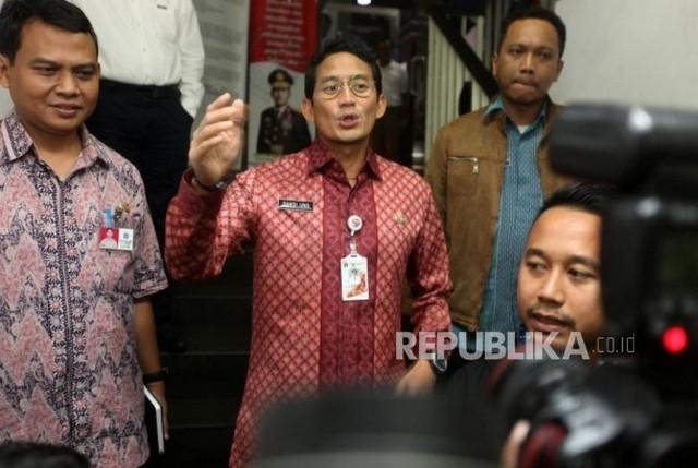 Wagub DKI Sandiaga Uno Diperiksa Polisi Untuk Kasus 21 Tahun Yang Lalu