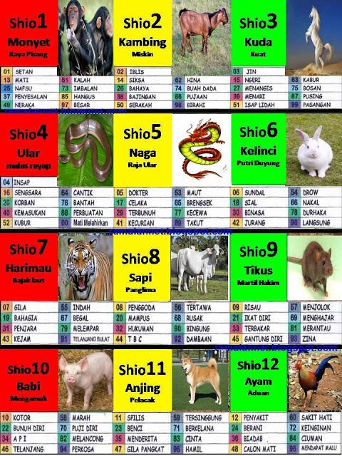 daftar naga togel