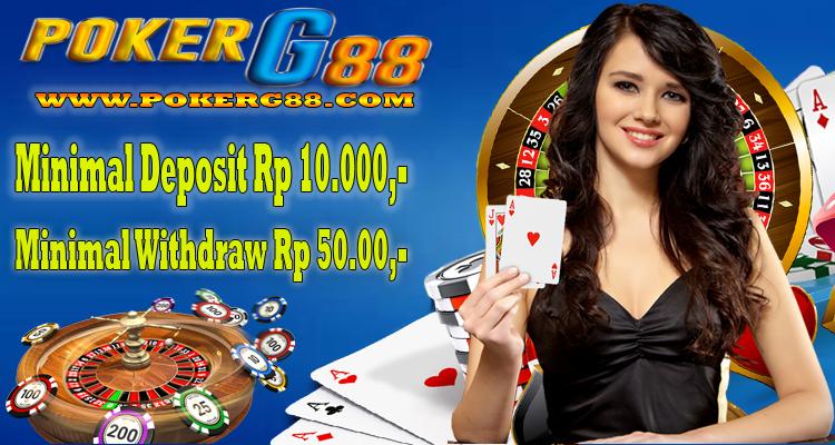 Pokerg88 Agen Judi Pulsa Pokerg88 Promo Bonus New Member 20