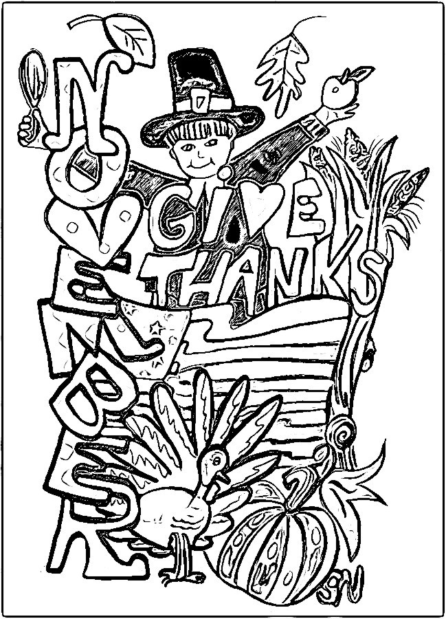 Children's Gems In My Treasure Box: November Coloring And