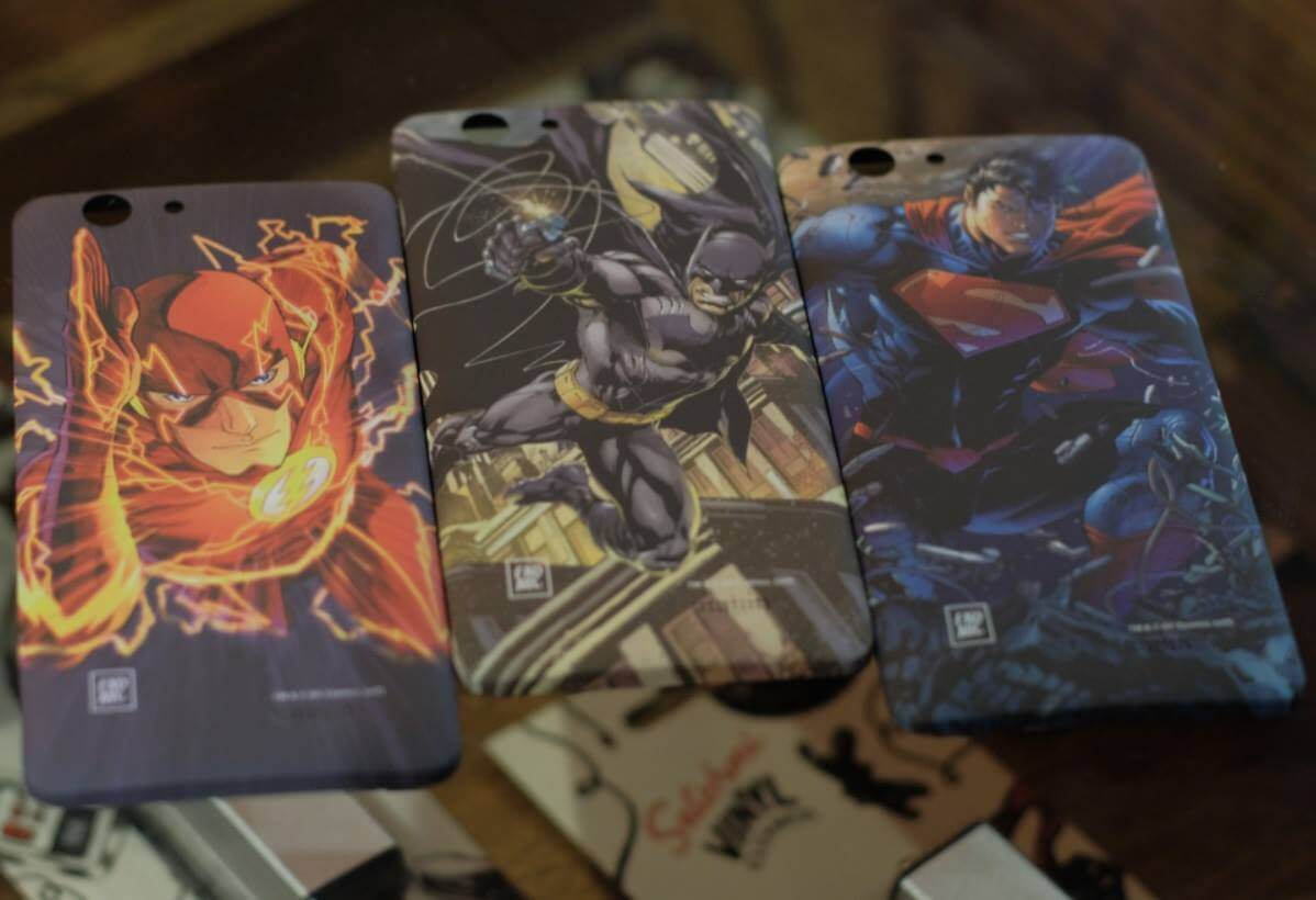 Justice League Themed Charger Spare Back Covers
