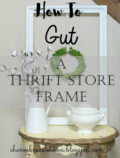 DIY Farmhouse Frame