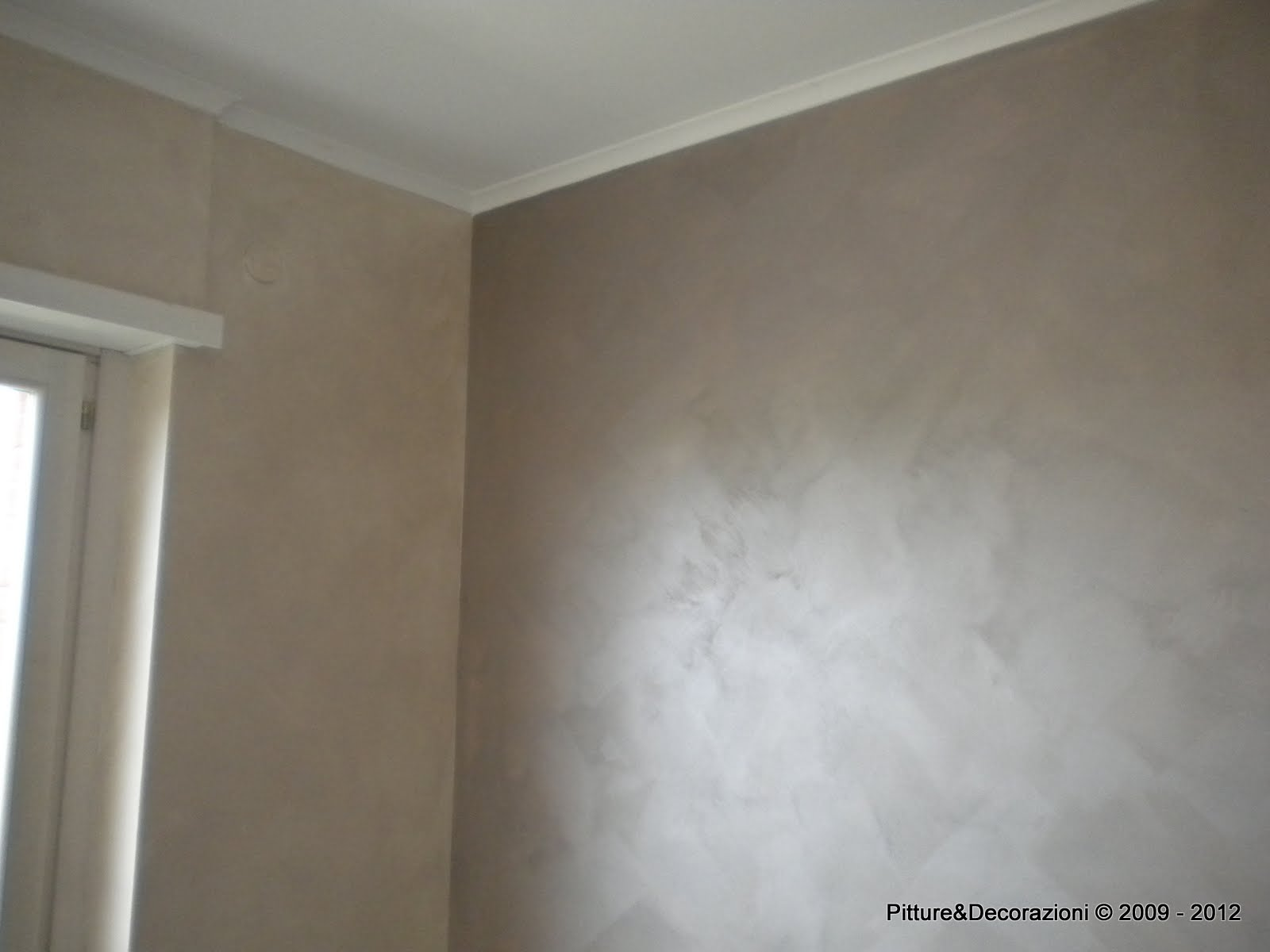 Pittura Velatura Grigia Polished Plaster Pitted Dragged Concrete