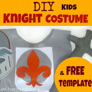 diy knight costume