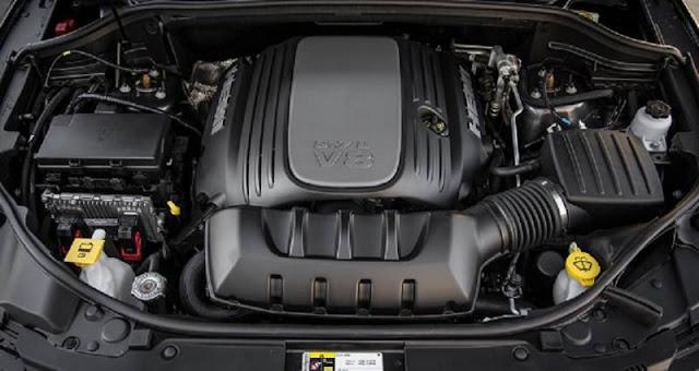 2017 Jeep Commander Engine