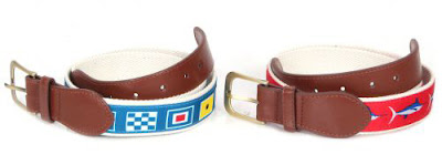 Needlepoint Belt for Men