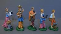 statuette personalizzate famiglia astronauta idee regalo natale marito orme magiche