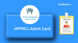 MPPMCL CA Admit Card