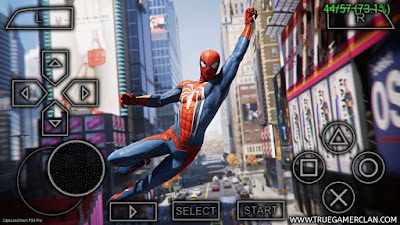 Spiderman 2 PSP Iso Download for Android