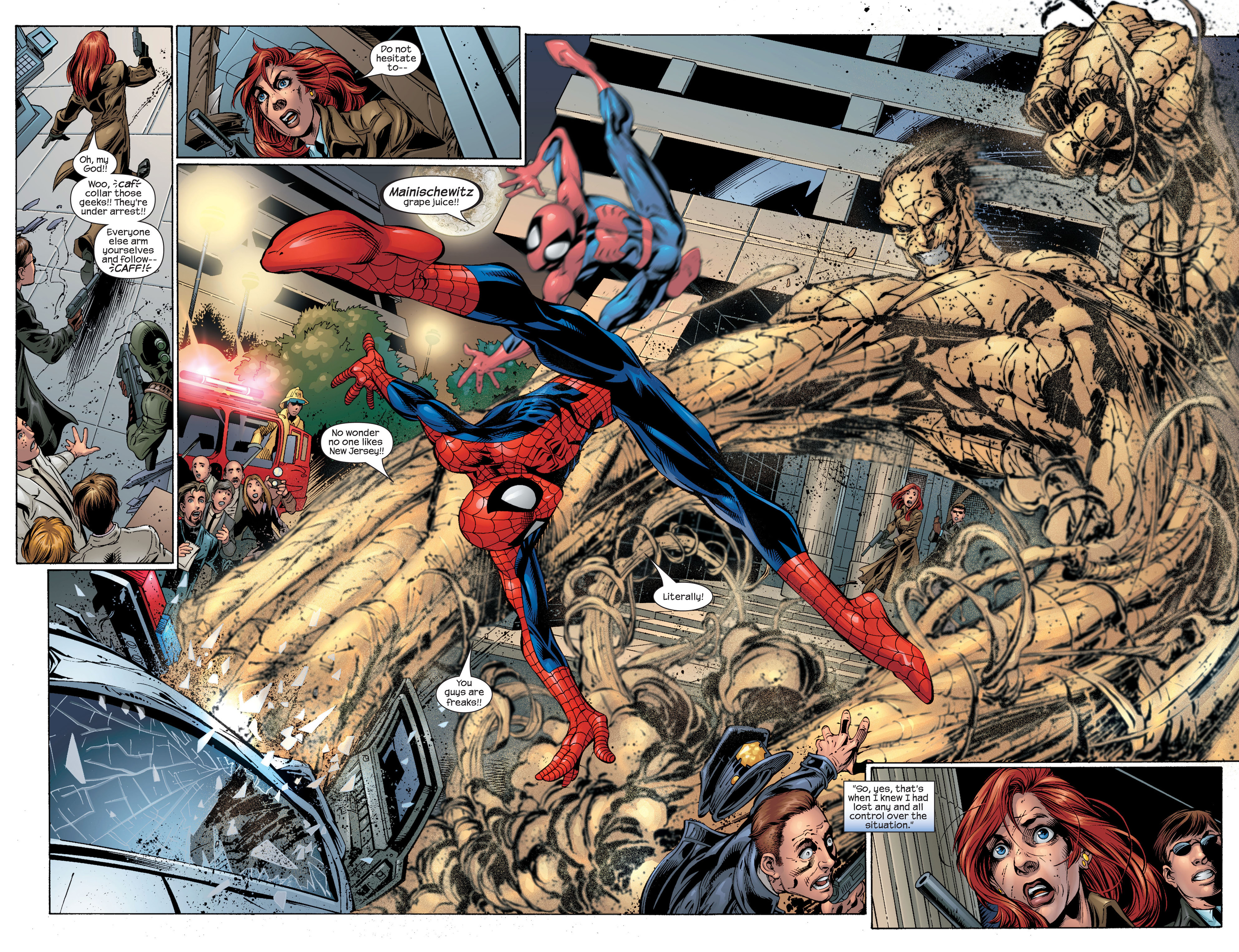 Read online Ultimate Spider-Man (2000) comic -  Issue #46 - 15
