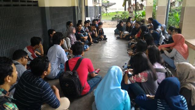 Rapat Proker Mahasiswa PNJ