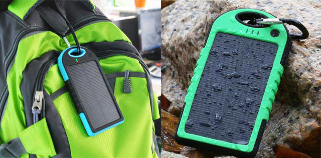Solar Power Bank Anti Air