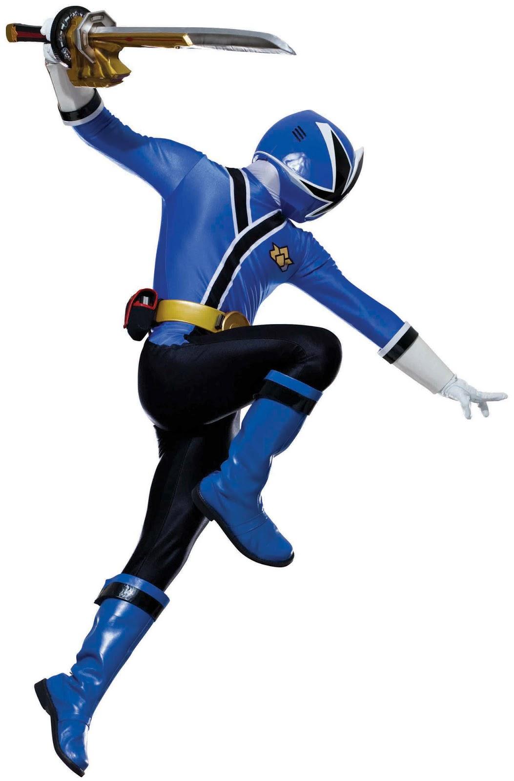 Excelente Rangers De Poder Samurai Azul Ranger Para Colorear Imagen ...
