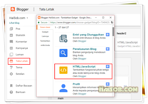 Cara membuat Widget Google Plus Badge di Blog Blogger