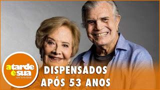 Tarcísio Meira e Glória Menezes são dispensados - A Tarde é Sua Completo (11/09/20)