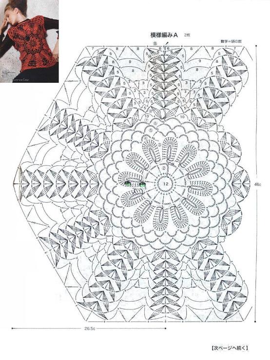 Fantástico Patrón De Crochet Medusas Modelo - Ideas de Patrón de ...