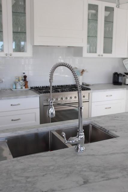 double kitchen sink with drainboard reface cabinets rom for deg: marmor på kjøkkenet