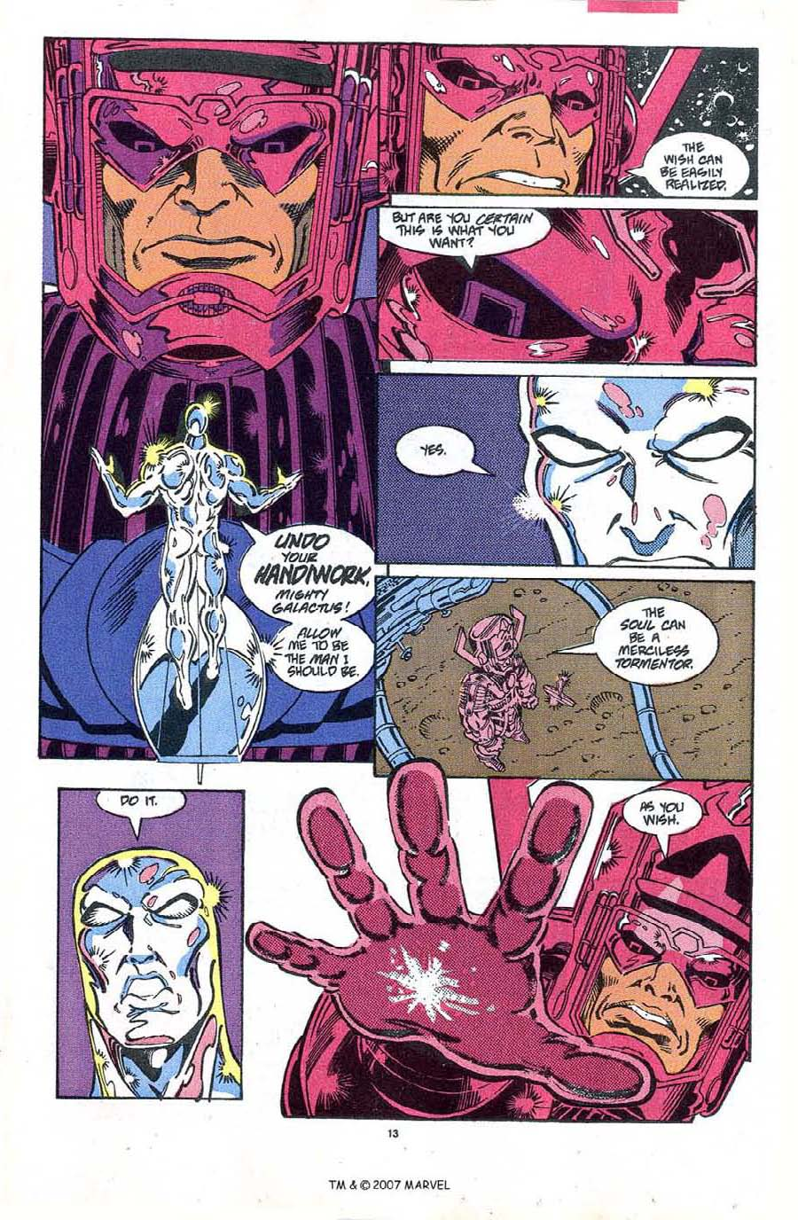 Read online Silver Surfer (1987) comic -  Issue #48 - 15