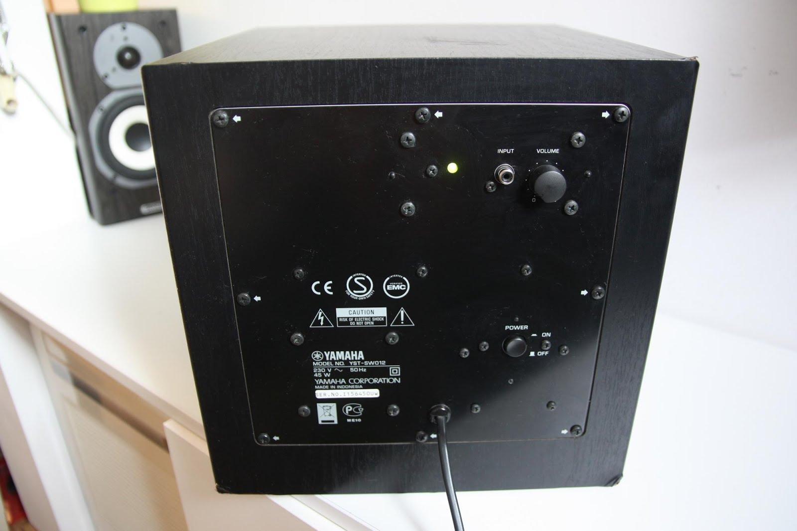 yamaha yst sw012 active subwoofer audiobaza. Black Bedroom Furniture Sets. Home Design Ideas