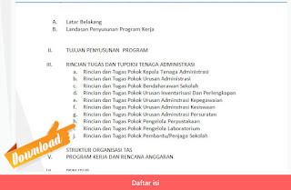 Daftar isi Program Kerja Administrasi Sekolah (TAS) Format Microsoft Word.jpg