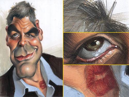 """""""George Clooney"""" por Joan Vizcarra"""