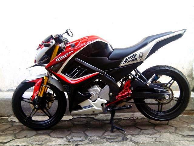 Modifikasi Motor Yamaha Vixion Keren