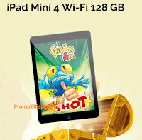 Logo ''Geckos&Co Supershot'' e vinci gratis Ipad Mini4