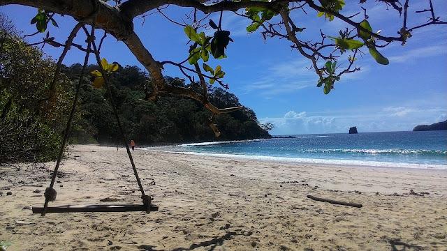 pantai sendiki wisata alam hits malang jawa timur