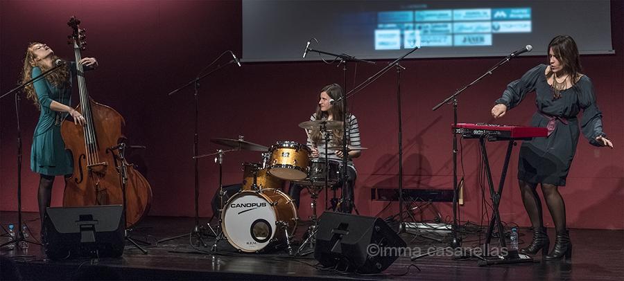 Gemma Abrié, Laia Fortià i Clara Luna, WoM Trio, Auditori Vinseum, Vilafranca del Penedès, 26-nov-2016
