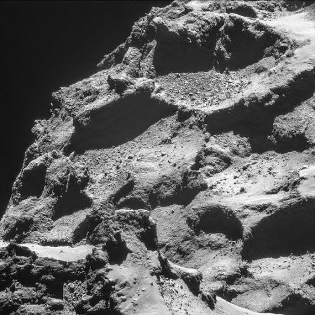 superfície do cometa 67P