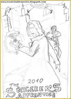 The Sorcerer's Apprentice Sketch Poste