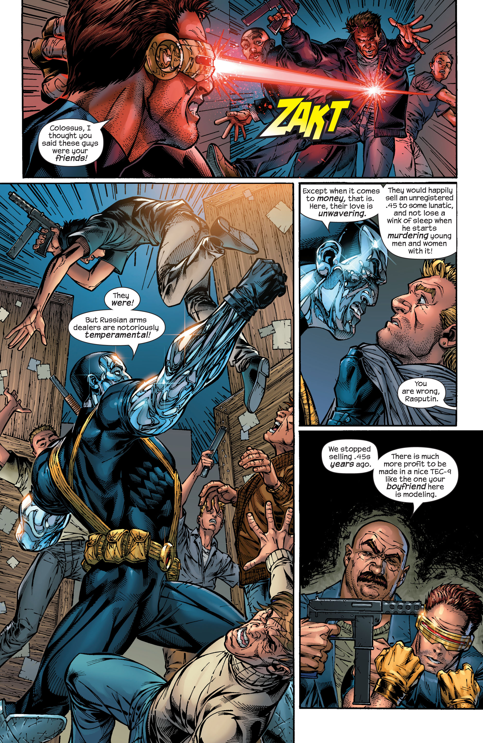 Read online Ultimate X-Men comic -  Issue #48 - 13